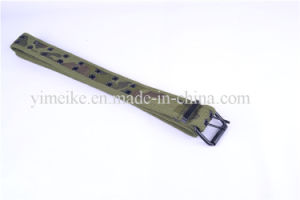 Camouflage Snap Button Cotton Tape Durable Cheap Fabric Belt pictures & photos