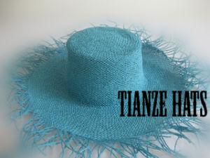 Blue Twist Paper Hat Body pictures & photos