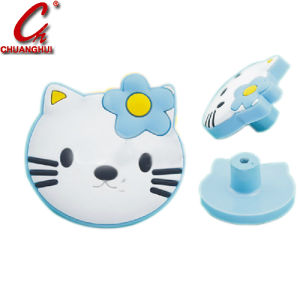 Fancy Soft Rubber PVC Cartoon Cabinet Child Room Pull Handle pictures & photos