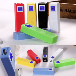 Hot Selling 2600mAh Power Bank with LED, Perfume Power Bank 2600mAh, Portable Power Bank pictures & photos