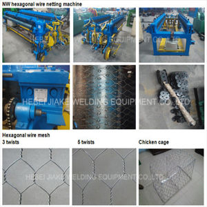 Nw Series Hexagonal Wire Netting Mesh Machine pictures & photos