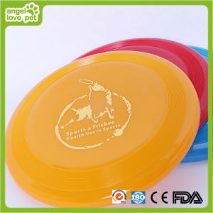 Multicolored Silica Gel Frisbee Dog Toys (HN-PT405) pictures & photos