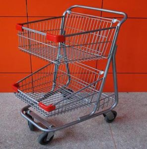High Quality Supermarket Shopping Trolley, Shopping Cart Trolley pictures & photos