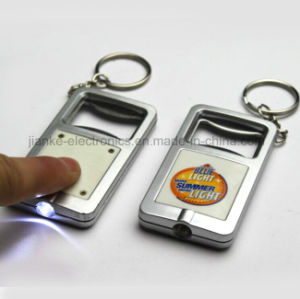 Promotional LED Light Keychain with Logo Printed (3032) pictures & photos