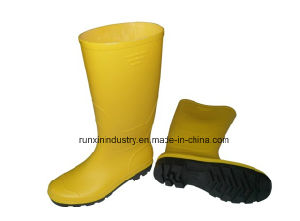 Wellington Type PVC Rain Boots 102yb pictures & photos