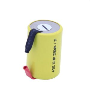 Deep Cycle Rechargeable 1.2V NiMH 4/5sc Battery with Tabs pictures & photos