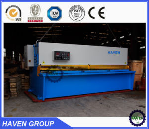 QC12K-20X6000 Hydraulic Swing Beam Shearing Machine, pictures & photos