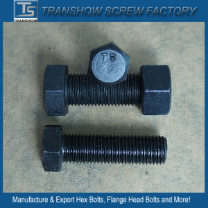 High Quality Black Unf Hex Bolt and Nut pictures & photos