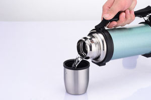 Food Grade Double Wall Stainless Steel Travel Pot Tourist Pot pictures & photos