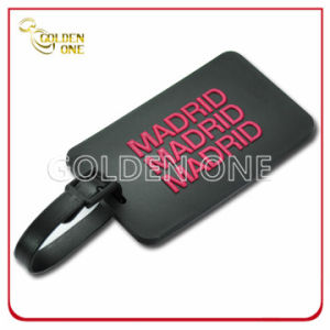 Promotion Gift Embossed Soft PVC Label Luggage Tag pictures & photos