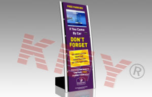 Super Slim Self Service Inquiry Kiosk Machine with Touch Screen pictures & photos