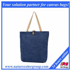 Women′s Designer Canvas Fabric Handbag pictures & photos