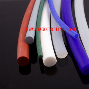Qingdao Good Quality Solid Silicone Rubber Tube pictures & photos