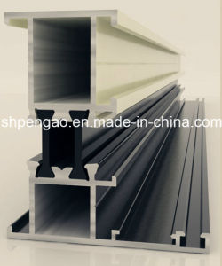Aluminum Profile for Nylon Thermal Break Window