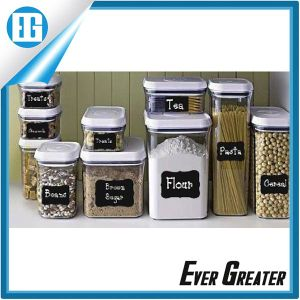 Classification of Food Storage Bottle of Black Adhesive Label pictures & photos