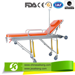 Foldable Stretcher for Ambulance Car (CE/FDA/ISO) pictures & photos