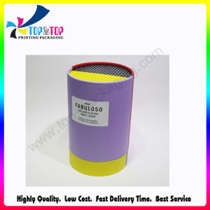 OEM Design Paper Cylinder Gift Box for Hair Care Products pictures & photos