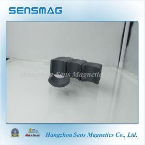 Permanent Ferrite Magnet in Arc Shape Used in Motor pictures & photos