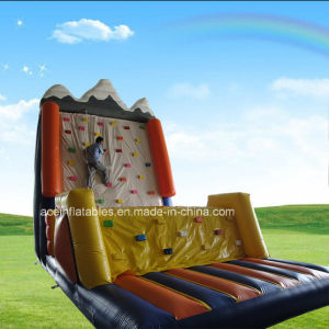 Hot Sale Snow Mountain Inflatable Climbing Game