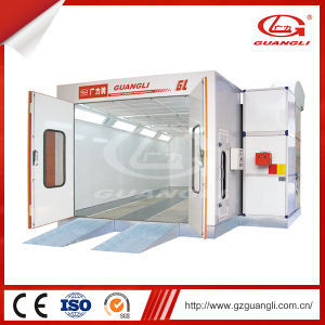 Guangli Hot Sale High Efficiency Low Price Spraying Paint Booth pictures & photos