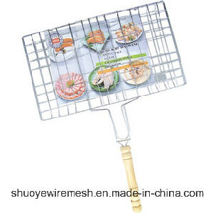 Portable Outdoor Barbecue Grill Wire Mesh Neting pictures & photos