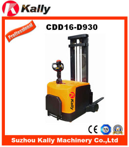 Electric Pallet Stacker (CDD16-D930) pictures & photos
