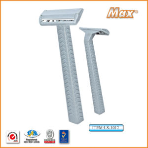 Single Stainless Steel Blade Disposable Shaving Razor (LS-1012) pictures & photos
