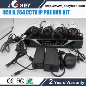 4CH H. 264 CCTV IP NVR Kits with Poe and HDMI and IP Camera pictures & photos