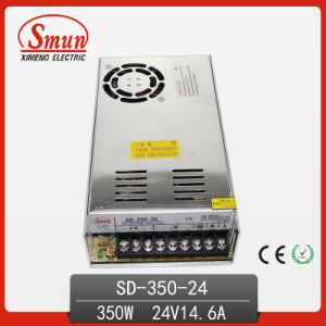 350W 24V 14.6A DC-DC Switching Power Supply with CE RoHS Approved and 2 Years Warranty pictures & photos