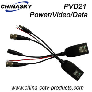 1CH Passive CCTV BNC Power Balun Over Cat5 (PVD21) pictures & photos
