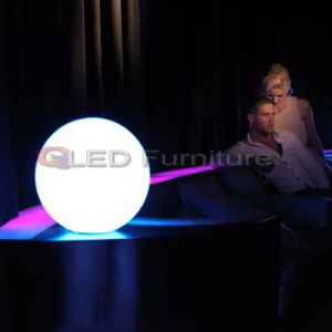 LED Light Ball at 20cm Ball Light with Battery in RGB LED Table Lamp