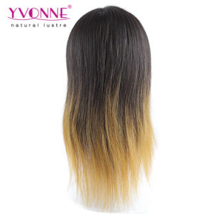 Ombre Brazilian Human Hair Full Lace Wig pictures & photos