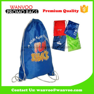 China 210d Polyester Drawstring Bag for Sports pictures & photos