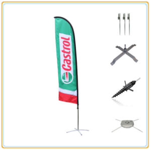 Outdoor Flying Decorative Outdoor Flags, Beach Feather Flag (5.5m) pictures & photos