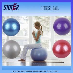 Hot Sale Anti Burst Custom Color 65cm Ecofriendly PVC Exercices Swiss Ball pictures & photos