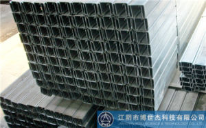 Metal Stud Steel Galvanised C Section Channel No Sharp Roll Forming Production Machine Thailand pictures & photos