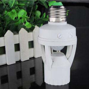 AC 110-220V 360 Degrees PIR Induction Motion Sensor IR Infrared Human E27 B22 E14 Plug Socket Switch Base LED Bulb Light Lamp Holder pictures & photos