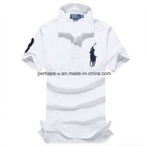 High Quality Short Sleeve Loose Men Polo Shirt Sports Wear pictures & photos