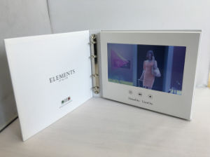 Video Screen LCD Video Folder in Artificial Crafts pictures & photos
