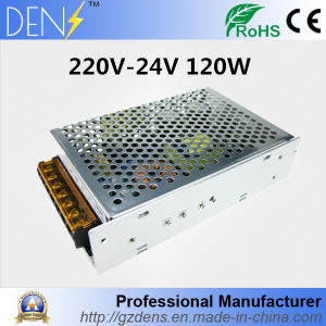 24V 5A 120W Transformer CNC CCTV AC-DC LED Strip Light SMPS Switching Power Supply pictures & photos