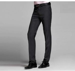 Men′s OEM Branded Non-Iron Formal Suit Pants pictures & photos