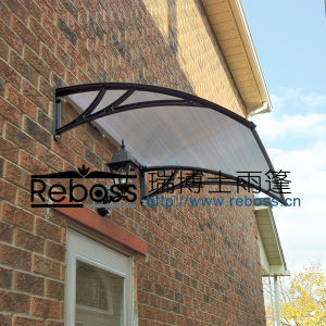 Polycarbonate DIY Shutter / Sunshade / Canopy/ Shelter for Windows& Doors (D1200A-S) pictures & photos