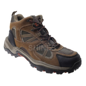Brown Cow Suede Hiker Shoes for Mens