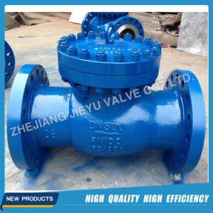 DIN Pn25 Dn100 Wcb Lift / Piston Check Valve pictures & photos