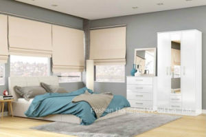 Modern High Gloss White Bedroom Set (HF-EY091) pictures & photos