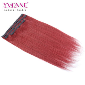 Brazilian Clip in Hair Extension Human Hair pictures & photos