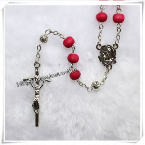 Cheap Wooden Bead Rosary, Rosary Necklace (IO-cr022) pictures & photos