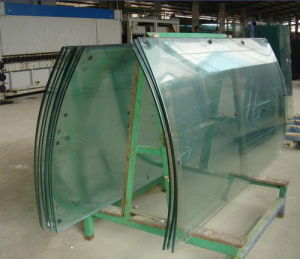 Curved Tempered Glass Curtain Wall for Commercial Building pictures & photos