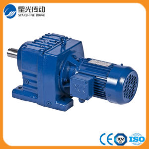 R37-Y80n4-0.55-24.42 Helical Transmission Gearbox with 0.55 Kw Motor pictures & photos