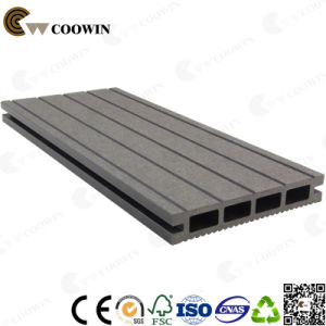 Wood-Plastic Composite Decking Technics WPC Decking (TW-02) pictures & photos